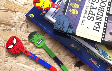 superhero bookmark marvel DC