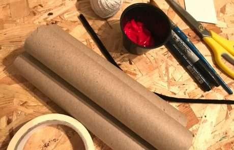 diy dynamite prop craft materials