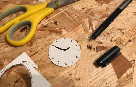 diy dynamite prop craft clock