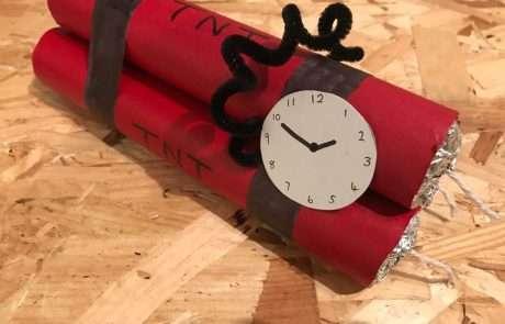 diy paper dynamite prop craft