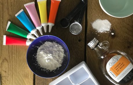 diy watercolour paint ingredients