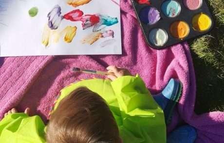 homemade kids paint
