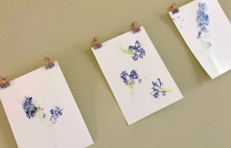 finished prints botanicals