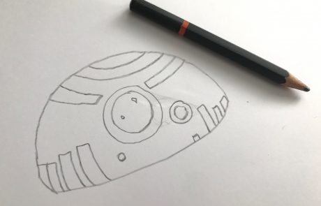 how to draw bb8