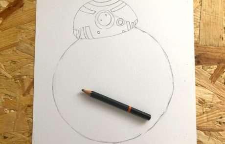 star wars drawing