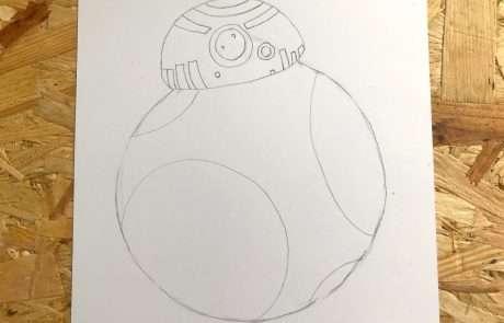draw star wars character