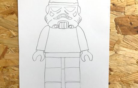 lego stormtrooper how to