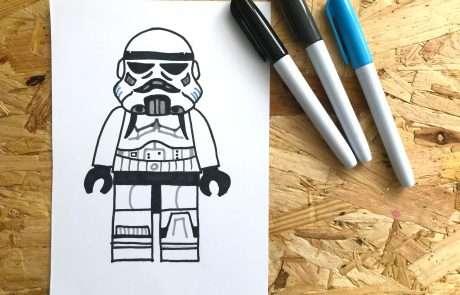 lego stormtrooper quick craft