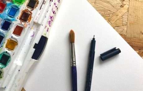 intuitive art doodles